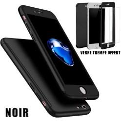 Coque IPhone 7/8 Full protect 360 avec verre trempé intégré - Différent coloris