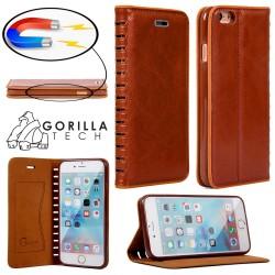 Etui IPhone 7 Plus Wallet Style - Gorilla Tech - Différent coloris