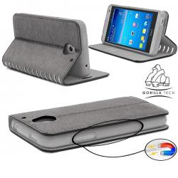 Etui Samsung Galaxy S4 mini Wallet Style 2 - Gorilla Tech - Différent coloris