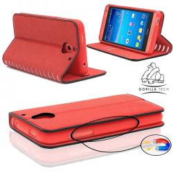 Etui Samsung Galaxy S5 Neo Wallet Style 2 - Gorilla Tech - Différent coloris
