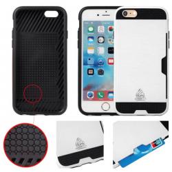 Coque IPhone 6/6S slim Armor protection double couche - Gorilla Tech - Différent coloris