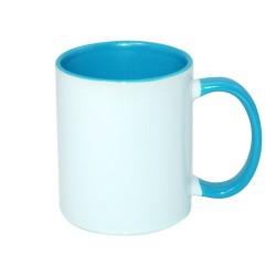 Mug en céramique intérieur et anse couleur - Différentes contenances