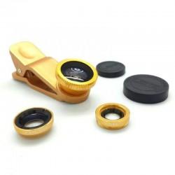 Objectif de camera universel 3en1 Tineyes pour smartphone - Différents coloris